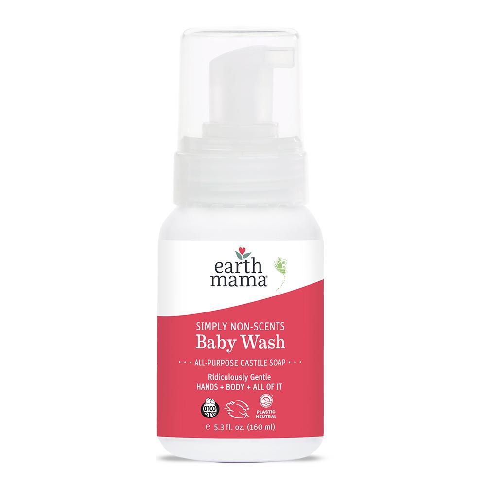 Earth Mama Organics - Natural Non-Scents Baby Wash