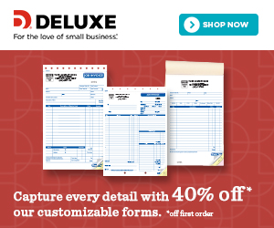 40% OFF 1ST ORDER OF BUSINESS FORMS