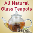 All Natural Glass Teapots with Infusers from Teas Etc