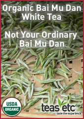 Organic Bai Mu Dan White Tea, Like No Ohter from Teas Etc
