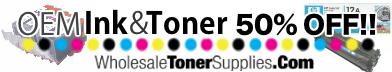 50% Off OEM Ink & Toner