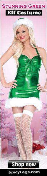 Women Elf Costume forbChristmas-www.SpicyLegs.com