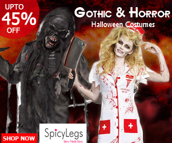 Buy Scary Gothic Halloween Costumes at up to 45% Off. Hurry