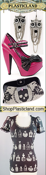 Retro Clothing and Accessories at PlasticLand
