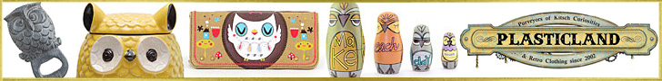 Quirky, Unique Gifts from Plasticland - Owl Cookie Jar, Owl Bottle Opener, Owl Wallet