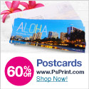 Save Up to 60% Off Postcards!