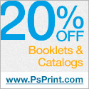 20% Off all Booklets