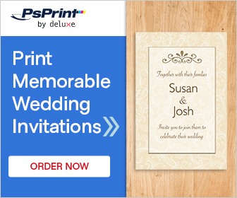 Order Wedding Invitations at PsPrint!