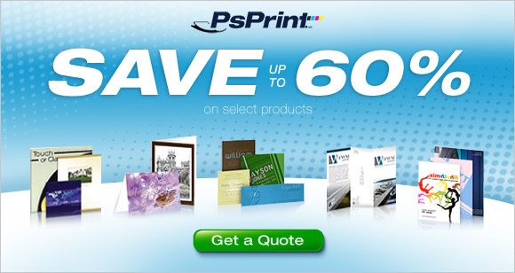 SAVE UP TO 60% OFF AT PSPRINT.COM