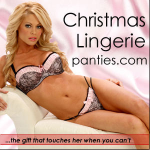 Panties.com Christmas Lingerie