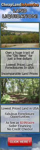 Cheap Land in America | www.cheaplandinamerica.com