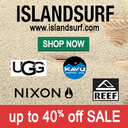 Save up to 40% on your favorite beach brands at www.islandsurf.com.