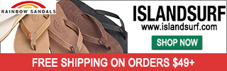 Free shipping on Rainbow Sandals at www.islandsurf.com