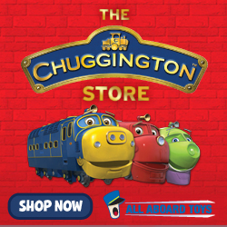 All Aboard Chuggington! All-new die-cast and wooden railway engines available!