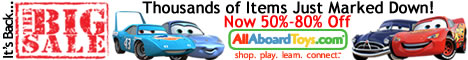 AllAboardToys.com Big Sale