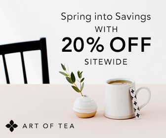 Art of Tea Organics 20% off sale