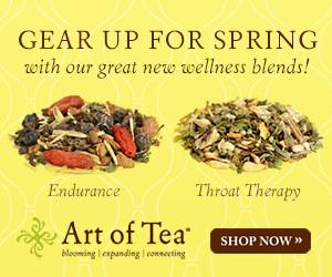 Art of Tea Gear Up for Wellness