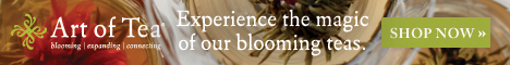 Experience the magic of blooming teas at Art of Tea