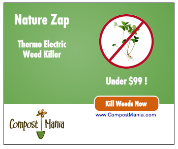 Kill Weeds with the Nature Zap from CompostMania.com