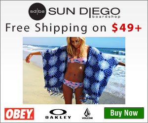 Find great brands for your summer at SunDiego.com!