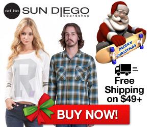 SunDiego – Free Shipping on $49+