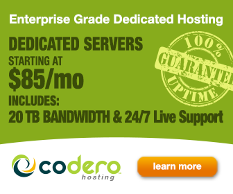 Codero Dedicated Hosting Services