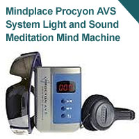Mindplace Procyon AVS System Light and Sound Meditation Mind Machine