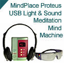MindPlace Proteus USB Light & Sound Meditation Mind Machine