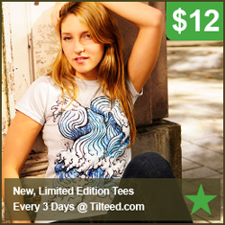 Tilteed - Limited Edition Art T-Shirts