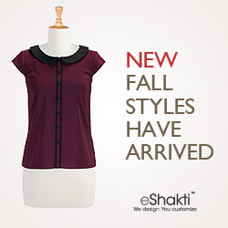 eShakti, Customized Clothing, Dresses, Tops, Blouses and Skirts
