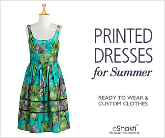 eShakti, Customized Clothing, Dresses, Tops, Blouses, Skirts, vintage inspired, retro, boho, 50s fashion, 60s fashion, bridesmaids