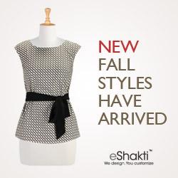 eShakti, Customized Clothing, Dresses, Tops, Blouses and Skirts