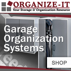 Organize It Garage Organization