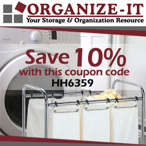 Organize-It Laundry Storage and Organization Products