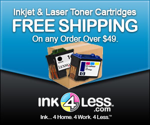 Ink For Less | Free Shipping on Printer Ink Cartridges & Laser Toner Cartridges