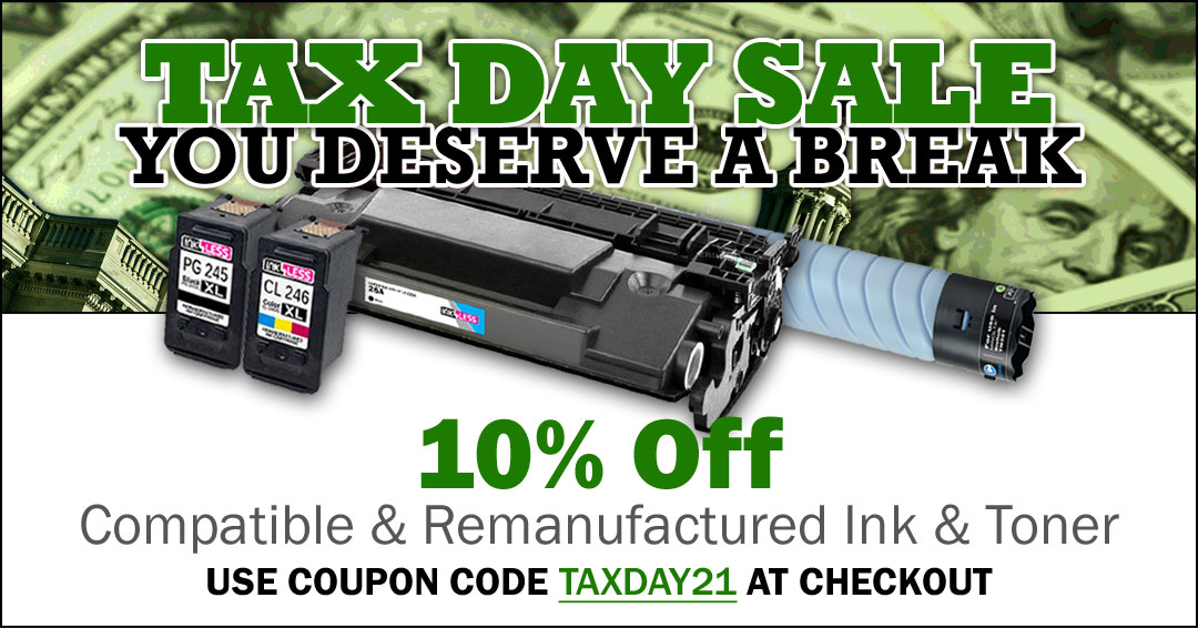 fb post taxday 2021 - 10% Off Printer Ink & Toner (excludes OEMs)