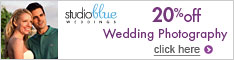 20% off wedding photography package