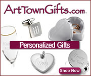 Shop Art Town Gifts for unique personalize gifts!