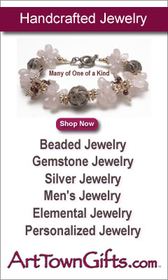 Find unique handcrafted jewelry at Arttowngifts.com