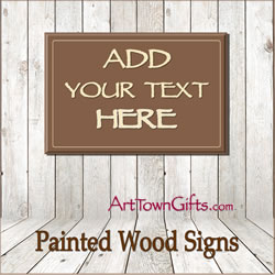 Design A Wood Sign