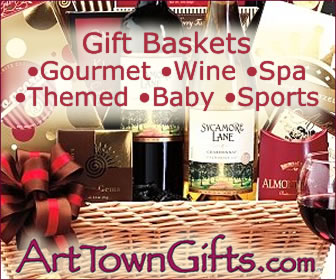 Find unique gift baskets for any occasion at Arttowngifts.com.