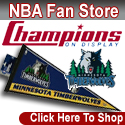 Shop the Minnesota Timberwolves Fan Store at ChampionsOnDisplay.com