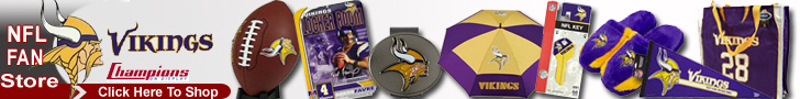 Shop the Minnesota Vikings Fan Store at ChampionsOnDisplay.com
