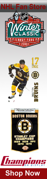 Shop Bruins Merchandise Fan Gear and Collectibles at ChampionsOnDisplay.com