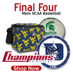 Shop ChampionsOnDIsplay.com for your NCAA Final Four Team Fan Gear and Champs Gear After the Game!