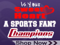 Is Your Valentine A Sports Fan? Shop ChampionsOnDisplay.com For The Perfect Team Logo Gift!