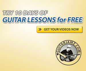 Get free blues guitar lessons