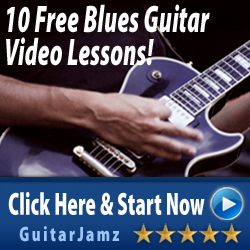 Get 10 free blues guitar lessons