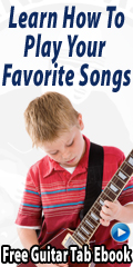 Learn how to play your favorite songs on the guitar