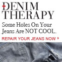 Some Holes On Your Jeans Are Not Cool. Repair Your Jeans Now.
